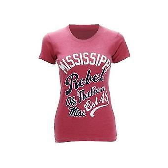 "Ole Miss Rebels NCAA New Agenda ""Splashy Tee"" Top"