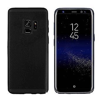 Samsung S9-fodral svart - Mesh hål