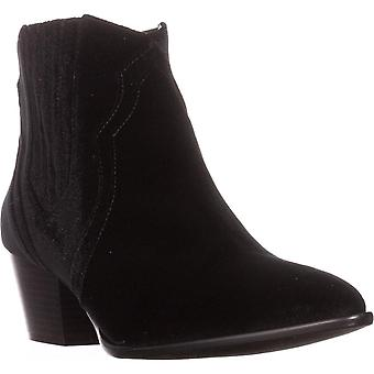INC International Concepts Womens andriaa Leather Pointed Toe Ankle Chelsea Boots
