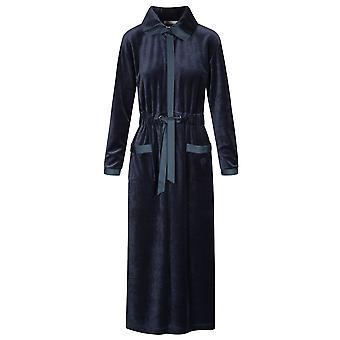Féraud 3191049-11998 Women's High Class Smokey Blue Gown Loungewear Bornoz