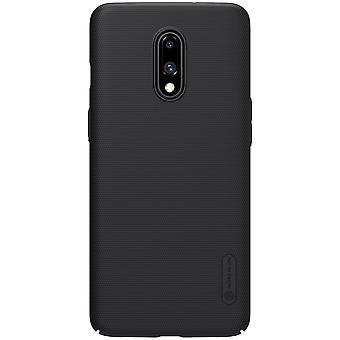 NILLKIN OnePlus 7 frosted shell hard-black