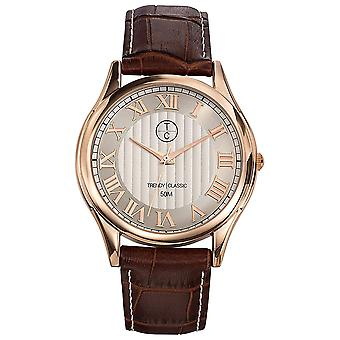 Trendy classic- canberra Watch for Men Analog Quartz With Cowhide Bracelet CG1003-08