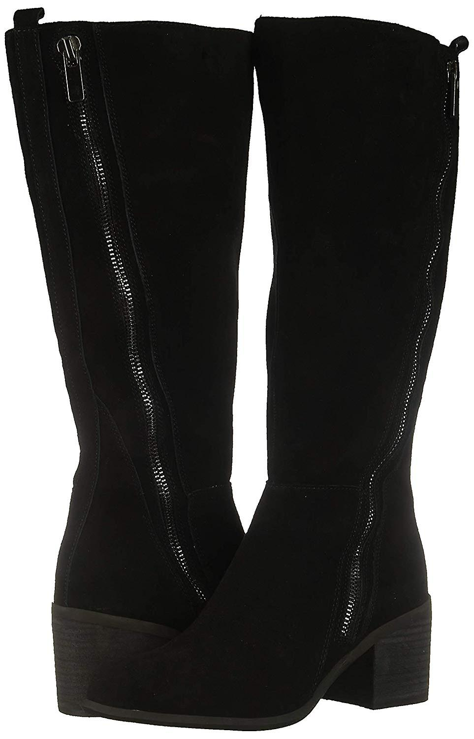 Carlos By Santana Womens Ashbury Leather Pointed Toe Knee High Cold We...