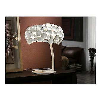 Schuller Narisa Metal Table Lamp 3 Light White