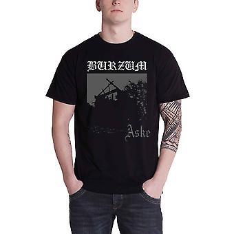Burzum Mens T Shirt Black Aske Album Band Cover Official