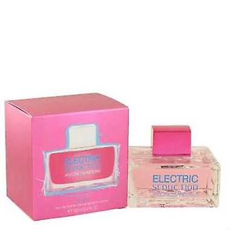 Electric Seduction Blue by Antonio Banderas Eau de toilette spray 3,4 oz (kvinder) V728-501459