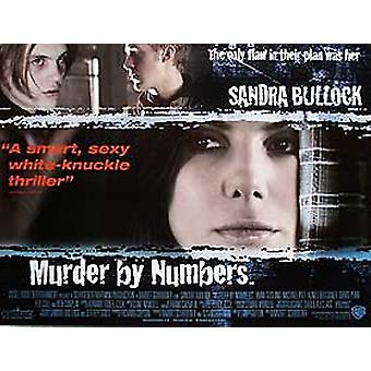 Murder By Numbers Original Cinema Poster
