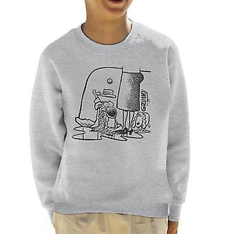 Grimmy In Trouble Kid's Sweatshirt