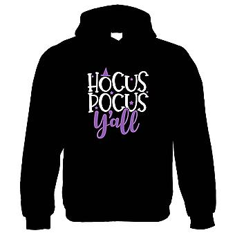 Hocus Pocus Y'all, Hoodie - Halloween Gift Him Her Birthday