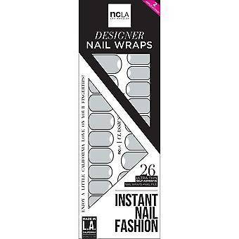 ncLA Los Angeles Instant Nail Fashion Designer Nail Wraps - It Never Rains In LA (26 Wraps)