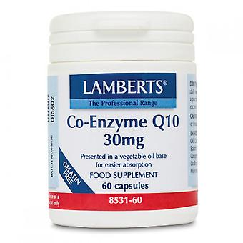Lamberts Co-Enzyme Q10 30mg Capsules 60 (8531-60)