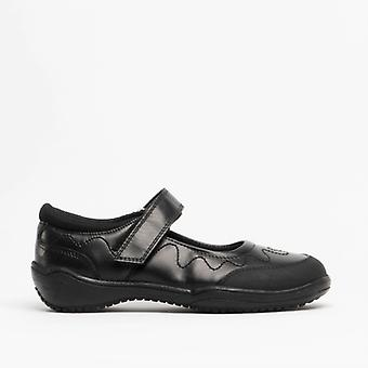 Roamers Laurina Girls Mary Jane Shoes Black