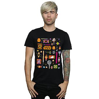 Star Wars miesten ' s Halloween kohtelee T-paita