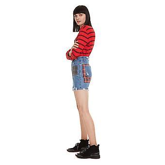 Desigual Women's Comic Design Denim Skirt
