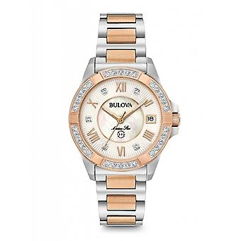 Bulova 98R234 Women's Marine Star Diamond Collection