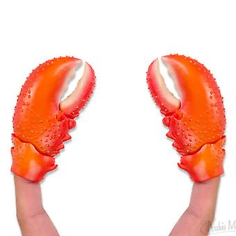 Archie McPhee Lobster Claw Finger Puppets