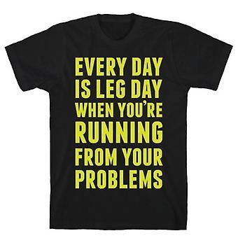 Jeder Tag ist Beintag, wenn T-shirt