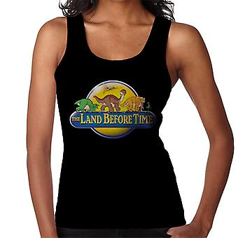 The Land Before Time Logo Women's Vest