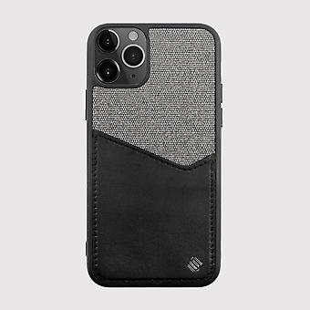 iPhone 11 Pro Max Case Reflect Pocket Back Shell Black/Grey