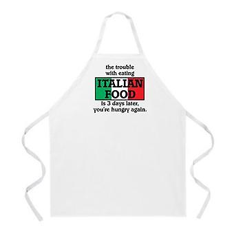 Delantal de comida italiana