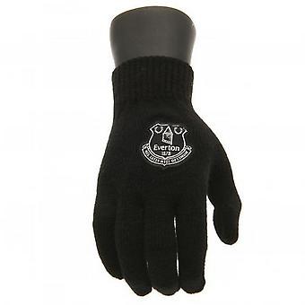 Everton FC Children/Kids Knitted Gloves