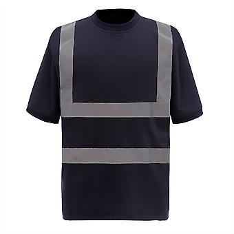 Yoko Mens Hi-Vis Short Sleeve T-Shirt