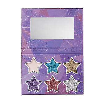 Sunkissed Cosmic Stars Palette - 5 x 1.6g Glitter Eyeshadow and 1 x 1.5g Highlighter Cream