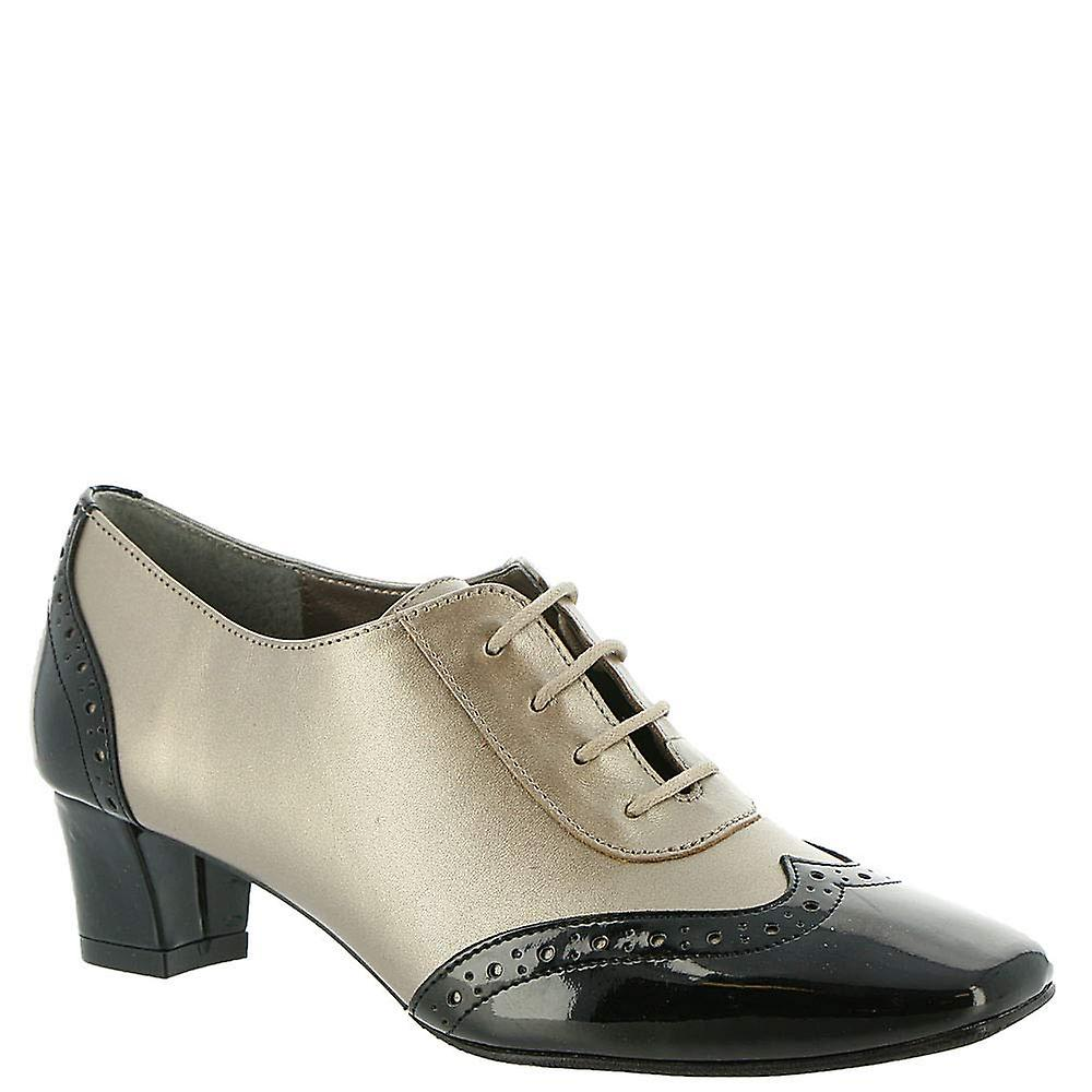 Auditions Womens first class Leather Cap Toe Classic Pumps BvsNO