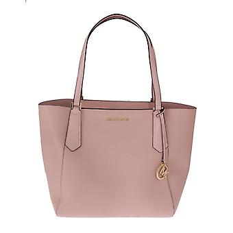 Michael Kors Pink Kimberly Leather Tote Bag