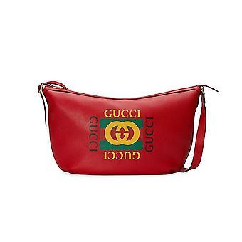 Web Logo Hobo Shoulder Bag