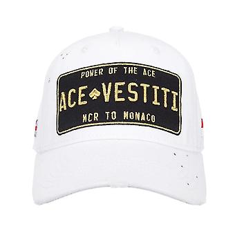 Ace Vestiti | Nuace-08 Paint Splatter Plated Baseball Cap