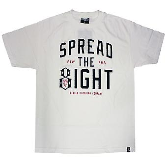 Rebel8 Spread The Eight T-shirt White