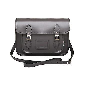 Zatchels Womens/Ladies Handcrafted Leather Top Handle Satchel (British Made)