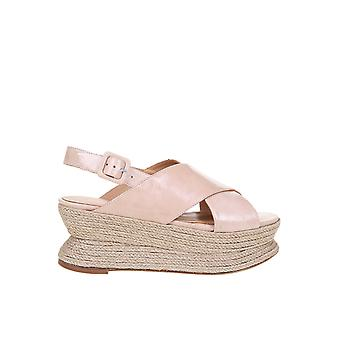 Paloma Barceló Alica Women's Pink Leather Sandals
