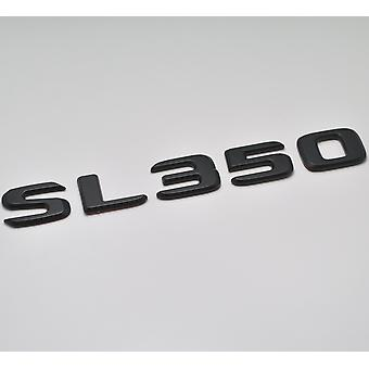 Matt Black SL350 Flat Mercedes Benz Car Model Numbers Letters Badge Emblem For SL Class R230 R231 AMG