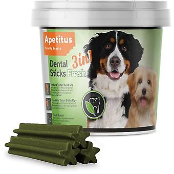 Apetitus DentalSticks Fresh 3 in 1 (Dogs , Treats , Dental Hygiene)