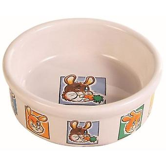 Trixie Feeder For Rabbits (Small pets , Cage Accessories , Food & Water Dispensers)
