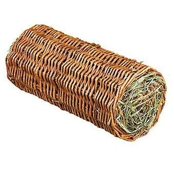 Trixie Wicker with Hay Tunnel, Carrot, Ø20X38Cm, 220G