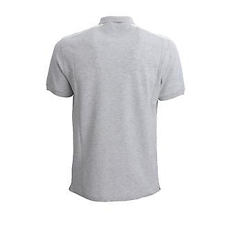 Brunello Cucinelli M0t639605gcg249 Hombres's Camisa Polo de Algodón Gris