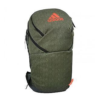 adidas H5 Hockey Backpack Rucksack Bag Khaki/Orange