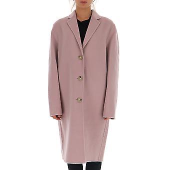 Acne Studios A90188bir Women's Pink Wool Coat