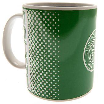 Celtic FC Crest Fade Design Mug