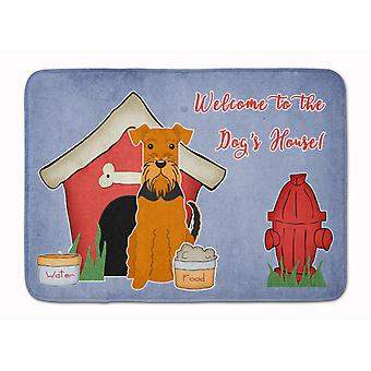 Dog House Collection Airedale Machine Washable Memory Foam Mat