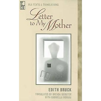 Letter to My Mother by Modern Language Association - 9780873529365 Bo