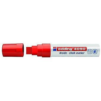 edding-4090 علامة الطباشير الأحمر 5PC 4-15 ملم / 4-4090002