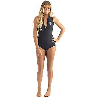 Rip Curl G Bomb Sleeveless Bikini Spring Neoprene Swimsuit in Black