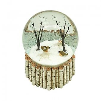 Heaven Sends Birds in Trees Snowglobe