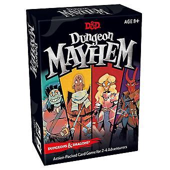D & D-Dungeon & Dragons-Dungeon Mayhem card Game