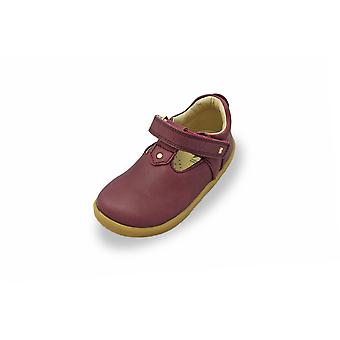 Bobux i-walk louise plum t-bar shoes
