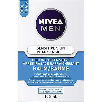 Nivea Men Sensitive Hautkühlung nach Rasierbalsam, 100 ml